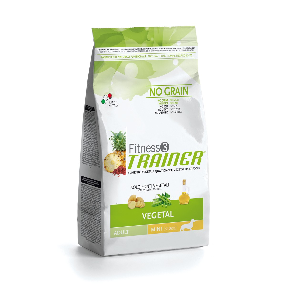 Trainer fitness 3 vegetal mini 2kg  2kg