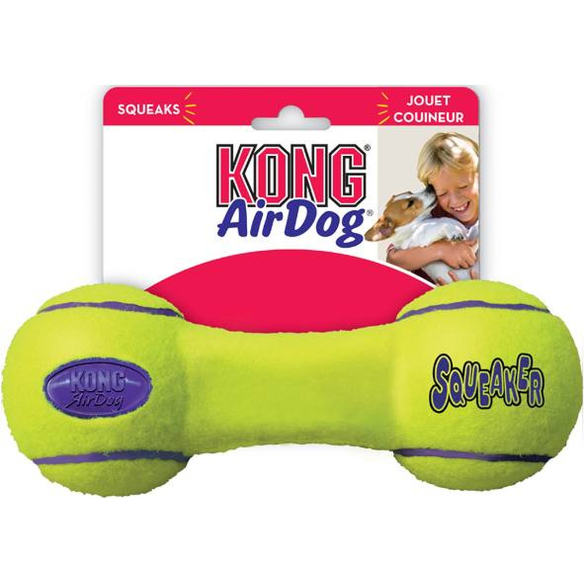 Air Dog Squeaker M 18cm  18cm