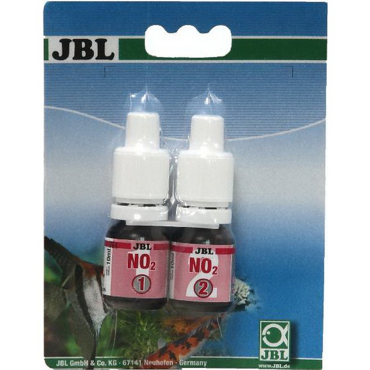 JBL NO2 Nitrite test set remplis. D/GB/F