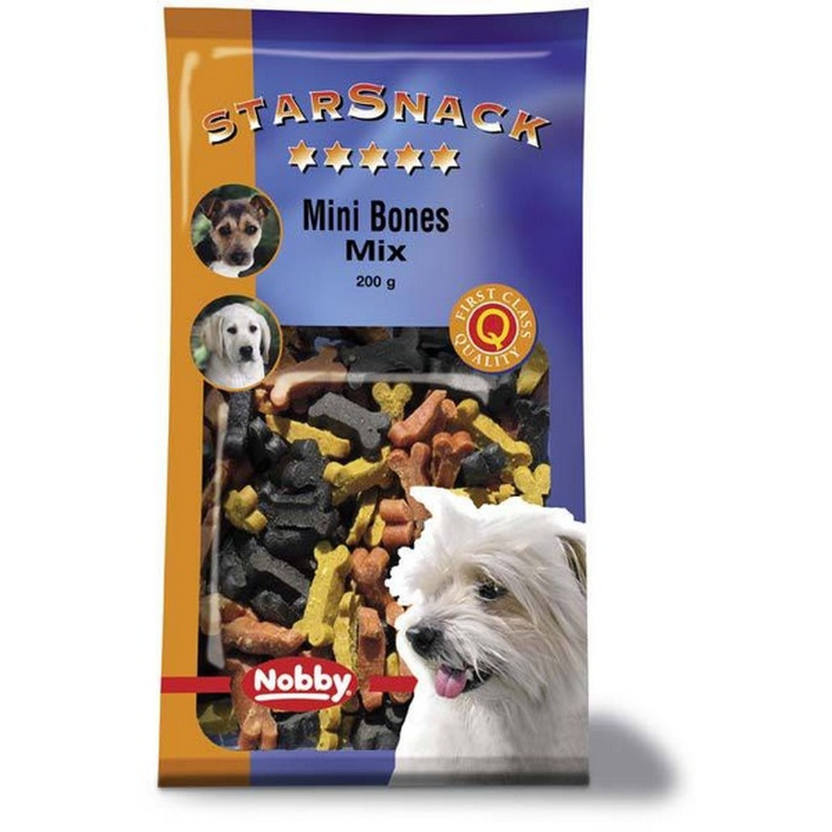 StarSnack Mini Bones Mix. 200 g  200g