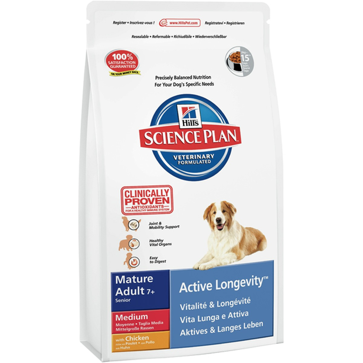 Science Plan  Canine mature adult 12 kg  12 kg
