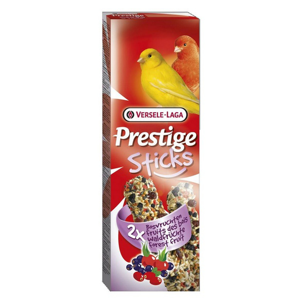 Prestige Sticks Canaris Fruits Bois 2 pces. 60 g  60g