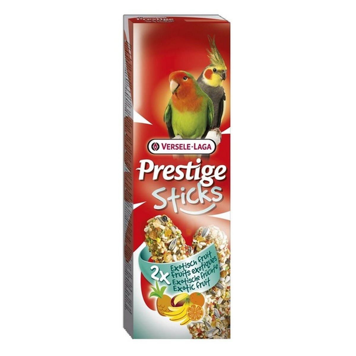 Prestige Sticks Grandes Perruches Fruits Exotique 140g  140g