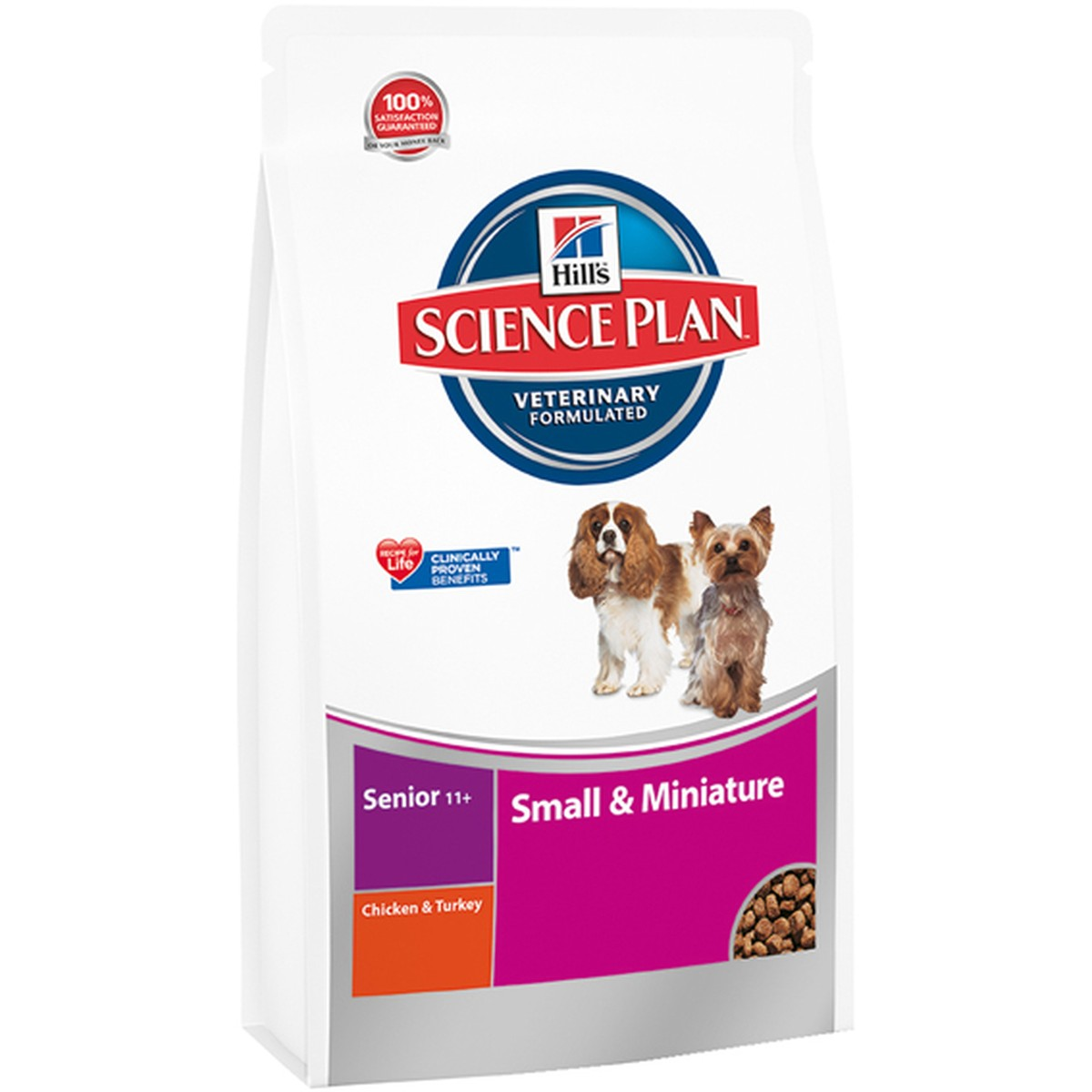 Science Plan  Small & Miniature Senior 11+ Poulet 1.5kg  1.5 kg