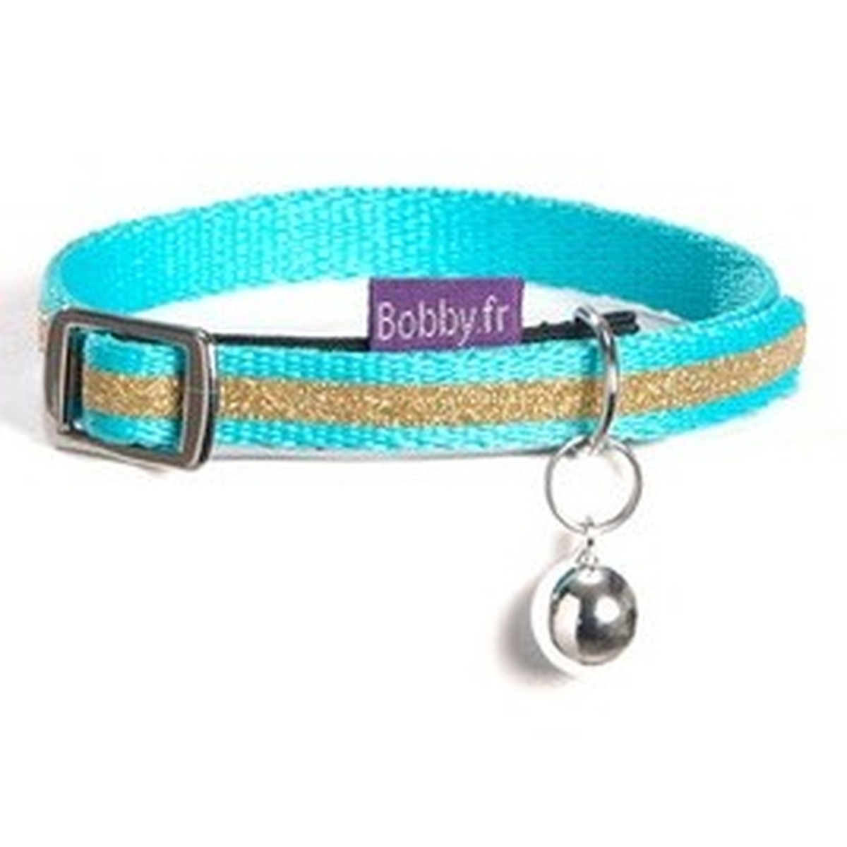 COLLIER CHAT PAPAGAYO TXS Bleu ciel XS