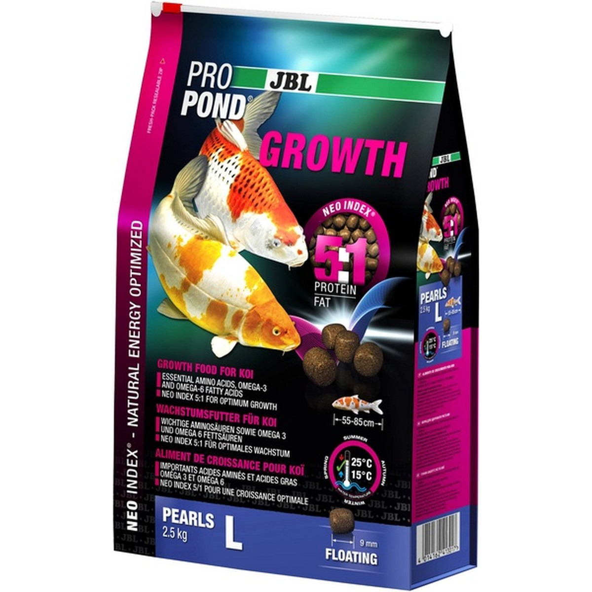 JBL ProPond Growth L, 2,5 kg  2.5kg
