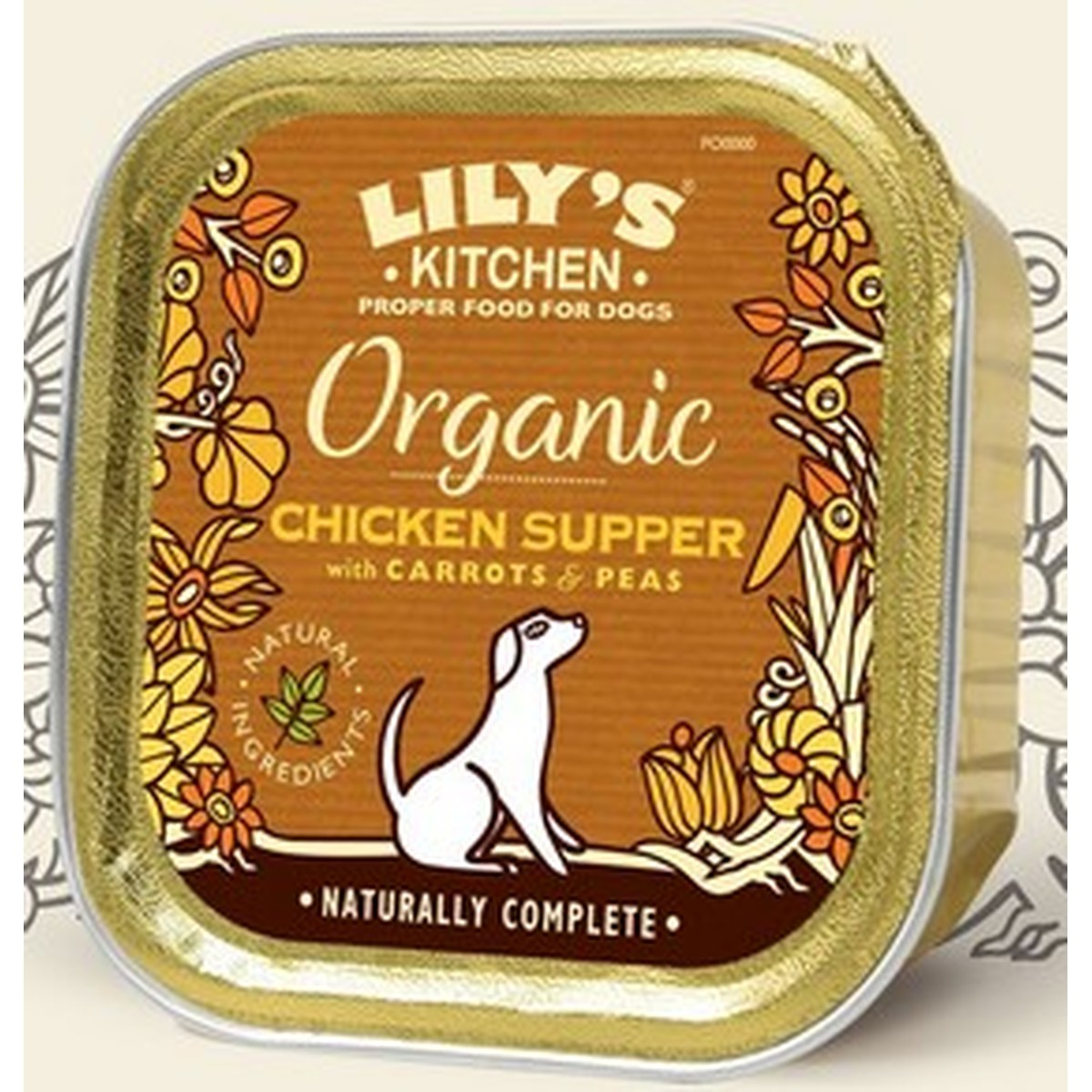 Lily's  Lily's dog Adult Organic Chicken 150g  150g