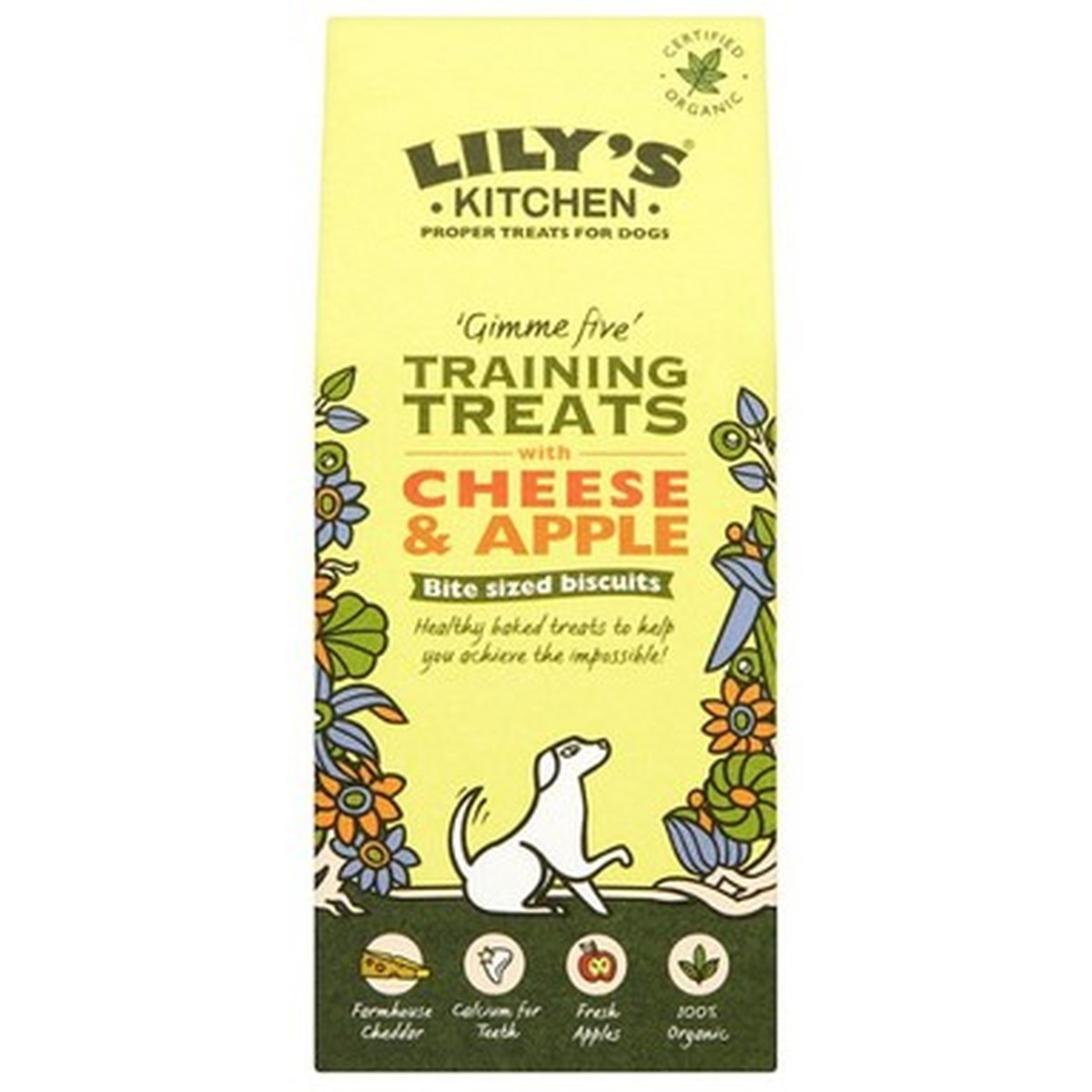 Lily s Kitchen dog treats Adult Cheese Apple 100g  100g