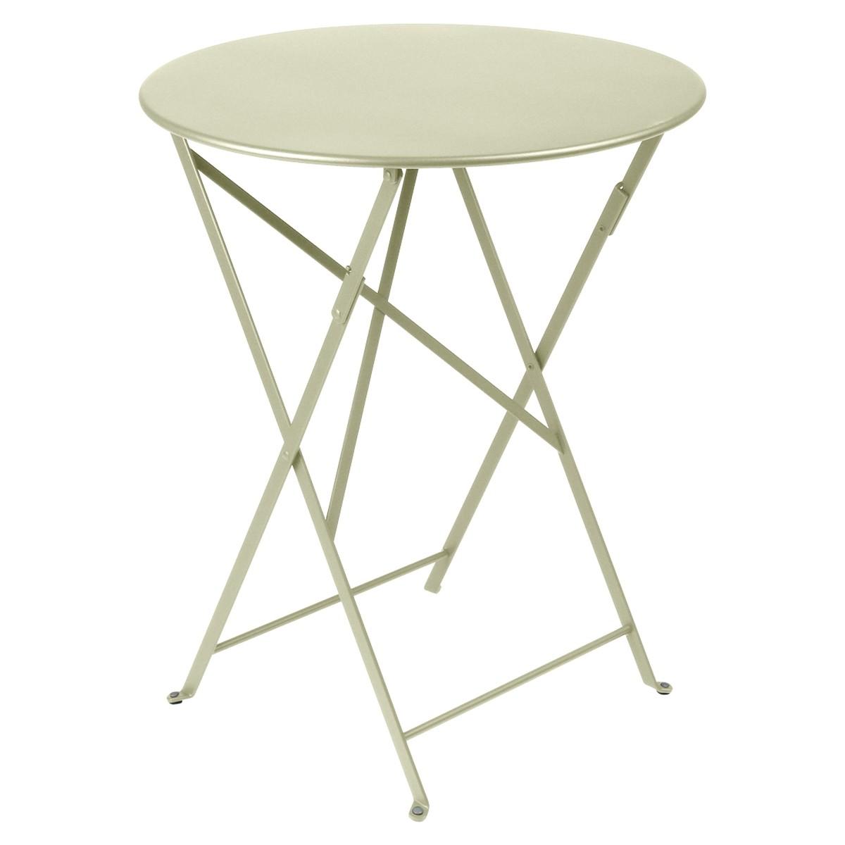 fermob bistro table bistro stp vert tilleul 60cm schilliger. Black Bedroom Furniture Sets. Home Design Ideas