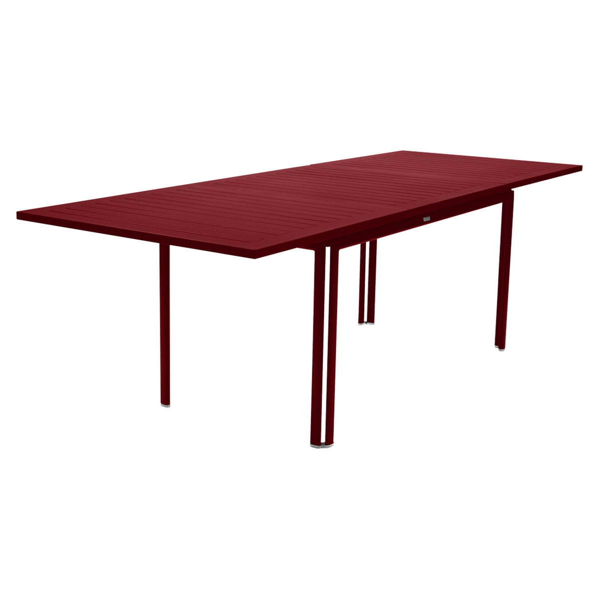 Fermob COSTA Table Costa extensible Rouge groseille 160-240x90cm
