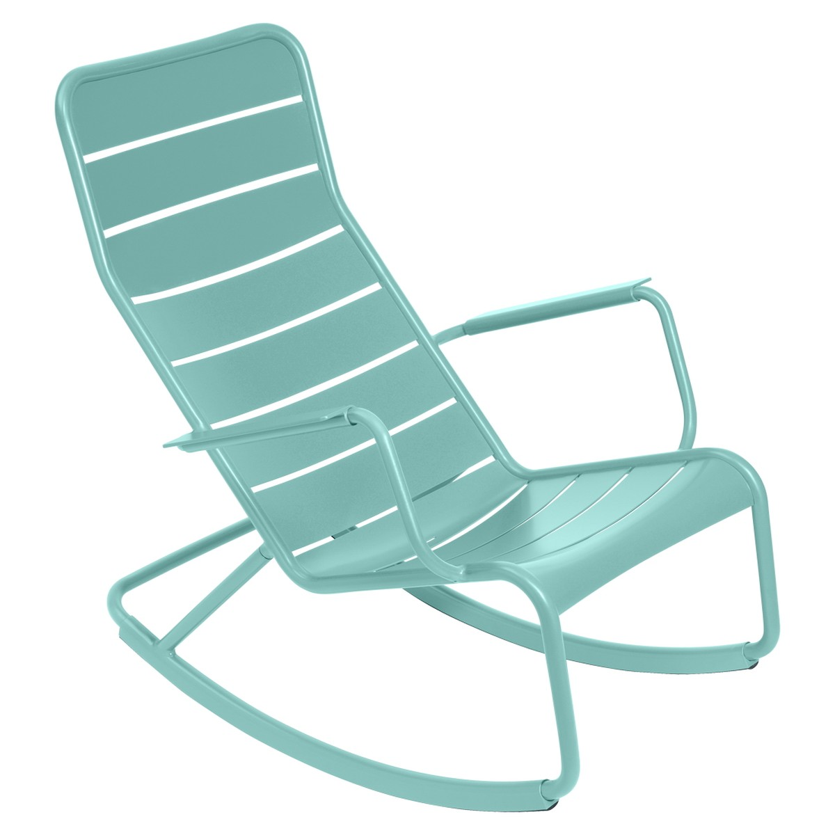 Fermob LUXEMBOURG Rocking Chair Luxembourg Bleu des mers du sud 99x50x69.5cm
