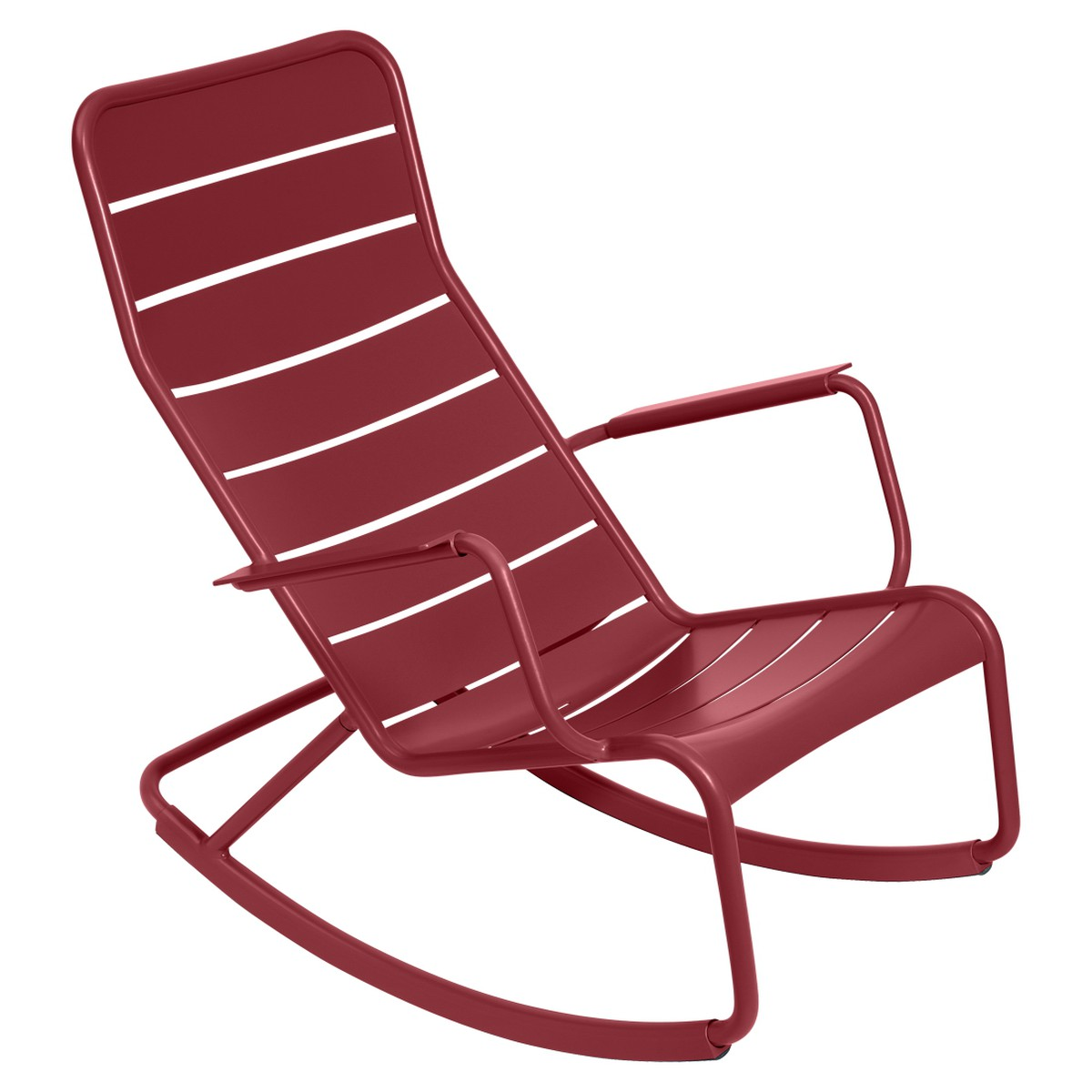 Fermob LUXEMBOURG Rocking Chair Luxembourg Rouge groseille 99x50x69.5cm