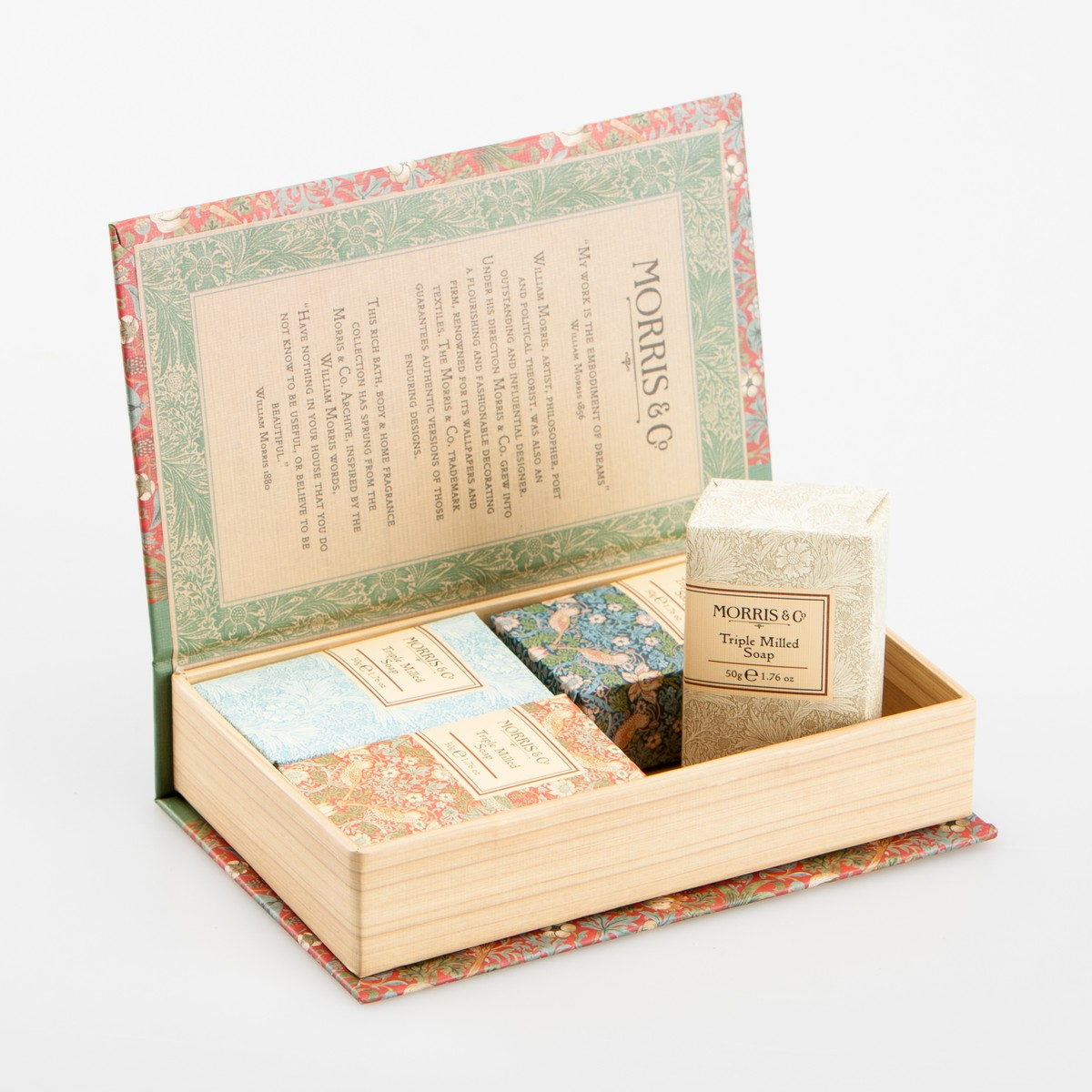 MORRIS & CO Coffret Savons Morris & Co 4x50gr  4x50gr