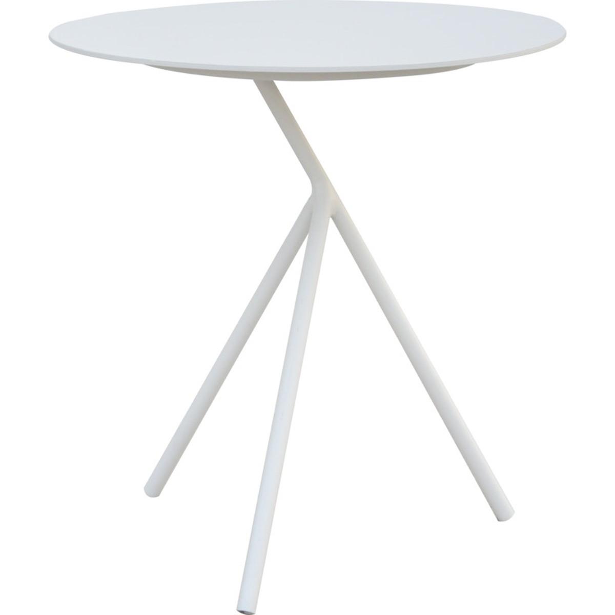 schilliger design table d appoint abo haute blanc 52x52. Black Bedroom Furniture Sets. Home Design Ideas