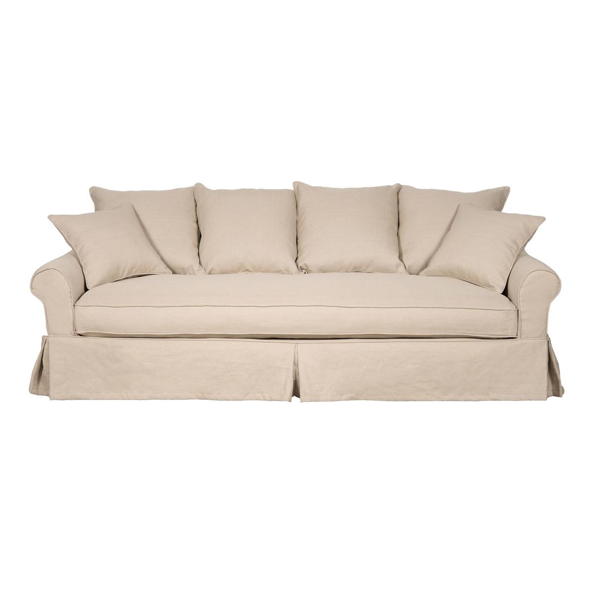Canapé Multi Couleur intérieur pr interiors eline canapé eline 3 places a multi-couleurs