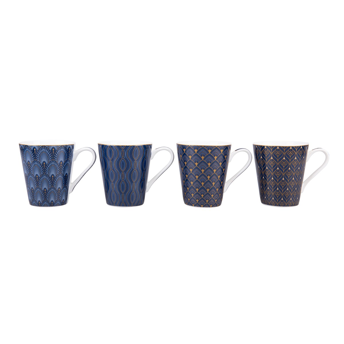 Coffee Mania Set 4 Mugs ART DECO 300ml  300ml
