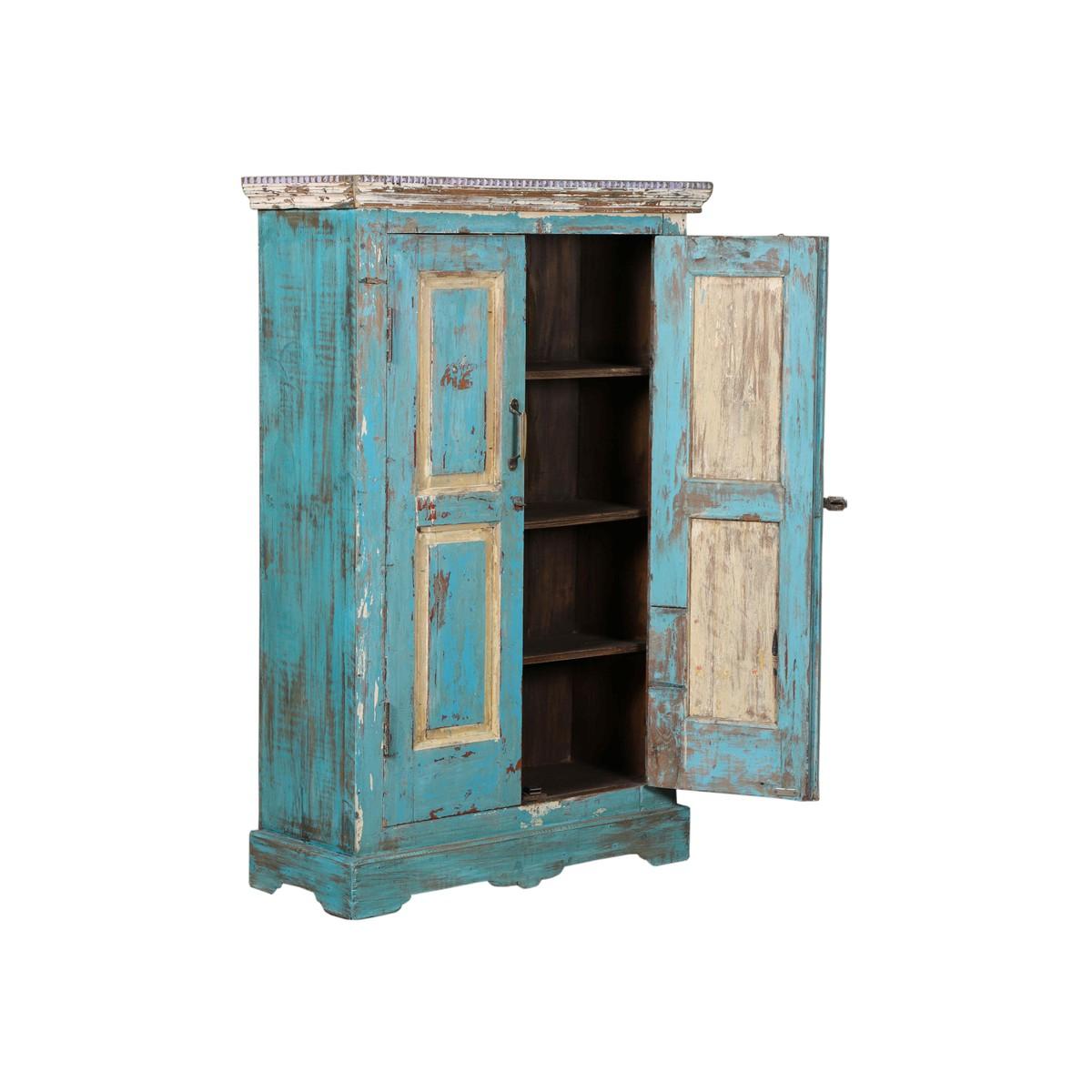 Schilliger Design Armoire 2 portes en teck ancien ...