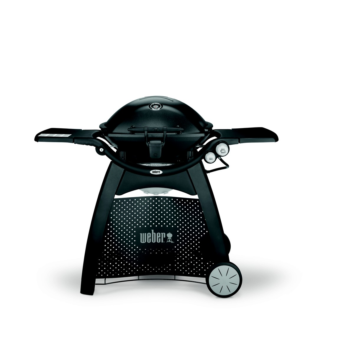 weber weber q grill a gaz q3200 black line avec tablettes. Black Bedroom Furniture Sets. Home Design Ideas
