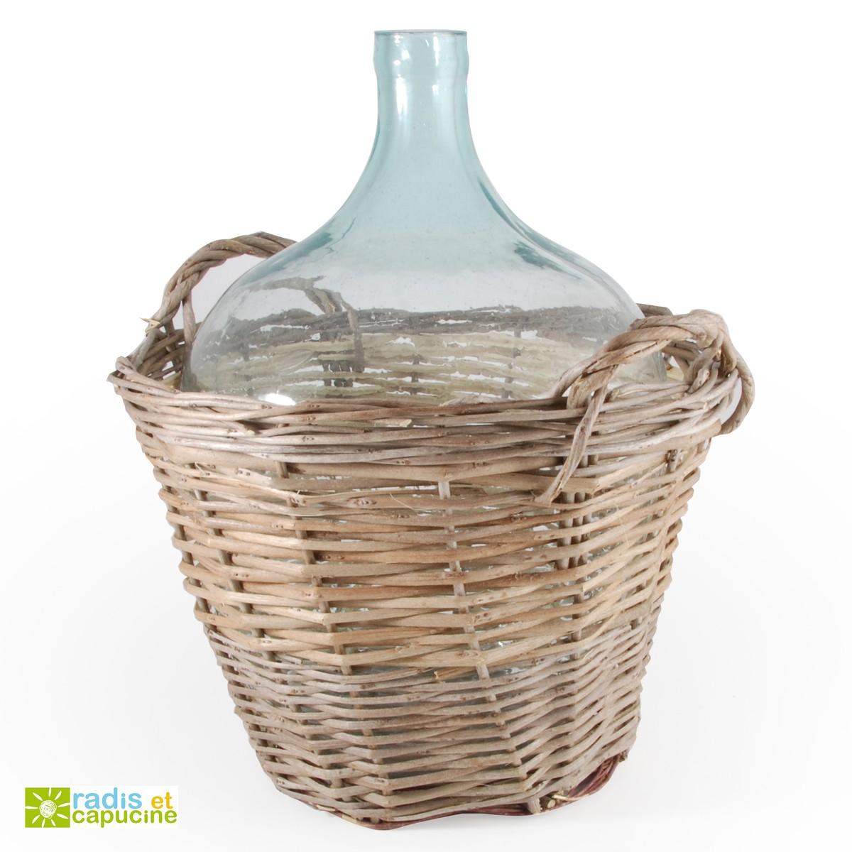 dame jeanne en verre great collecteur eau cuve damejeanne en verre litres avec goulot large. Black Bedroom Furniture Sets. Home Design Ideas